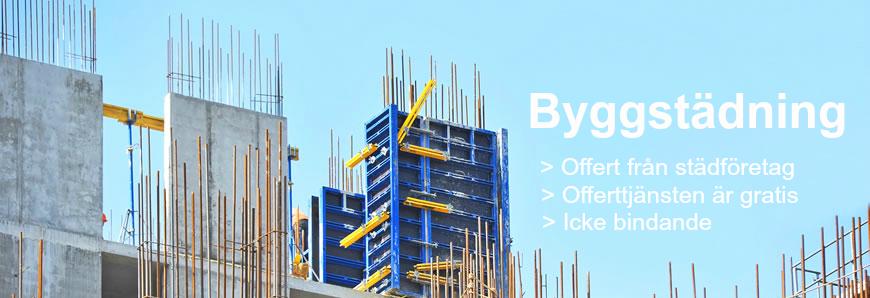 Byggstädning i Sverige